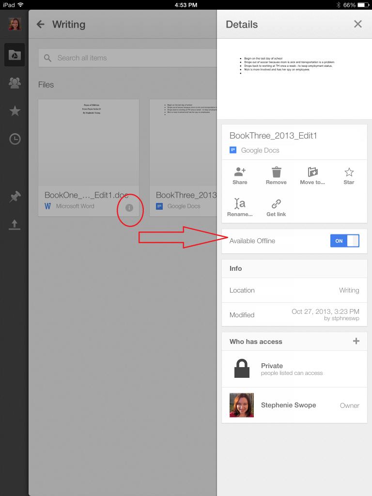 GoogleDriveOffline